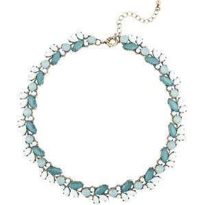 Mews Necklace in Teal