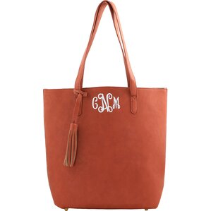 Personalized Tote in Brown