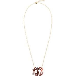 Personalized Acrylic Tortoise Necklace
