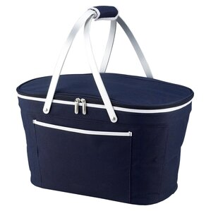 Reilly Collapsible Cooler in Navy