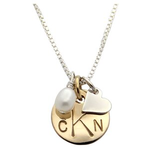 jenny present® Personalized Bette Monogram Necklace