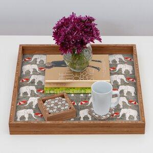 Elephant & Umbrella Coaster (Set of 4)