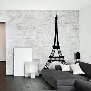 Eiffel Tower Wall Decal