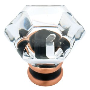 "Harlow 1.24"" Crystal Cabinet Knob"