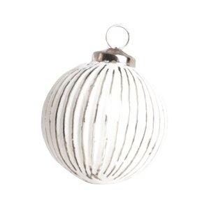 Joyeaux Noel Glass Ball Ornament (Set of 4)