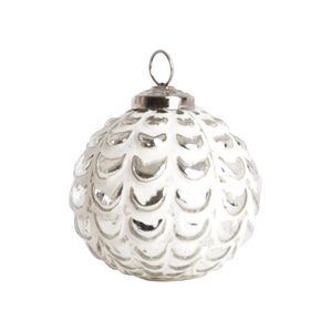 Clause Glass Ball Ornament (Set of 4)