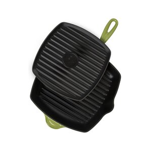 Le Creuset Enameled Cast Iron Panini Pan & Grill Set