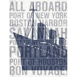 Boat Cities Canvas Print