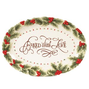Baked With Love Serving Platter