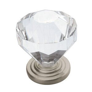 """Faceted 1.25"""" Cabinet Knob"""