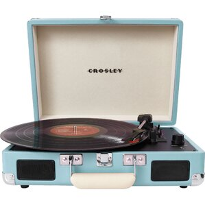 Crosley Portable Turntable in Turquoise