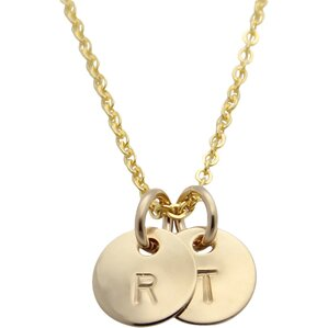 jenny present® Personalized Amy 2-Initial Necklace