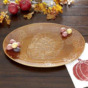 Turkey Holiday Serving Platter