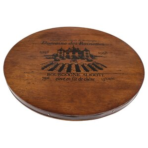 Wine Cask Cheese Tray