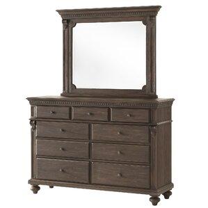 2-Piece Kyla Dresser & Mirror Set
