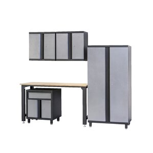 5 Piece Storage Cabinet Set