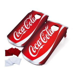 10-Piece Soda Can Bean Bag Toss Set