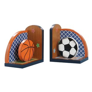 Sports Bookends (Set of 2)