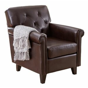 Kevin Leather Arm Chair