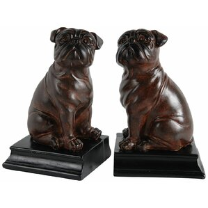 Bull Dog Bookends (Set of 2)