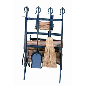 5-Piece Cambridge Log & Kindling Rack Set