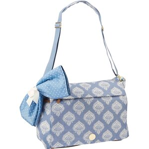 Nina Messenger Bag in Blue