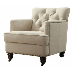Clay Tufted Arm Chair