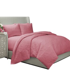 Jules Quilted Coverlet & Duvet Cover Set