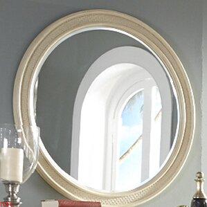 Sunset Key Round Dresser Mirror