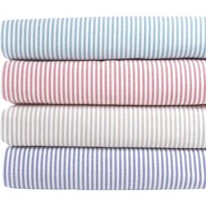 200 Thread Count Stripe Cotton Sheet Set