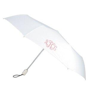 Personalized Umbrella in White