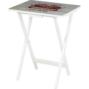 5-Piece Nautico Tray Table Set (Set of 4)