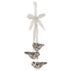 Bird Trio Ornament (Set of 2)