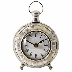 Levine Shell Table Clock