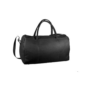 "19"" Leather Carry-On Duffel"
