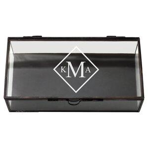 """Personalized 8"""" Velvet Jewelry Box"""