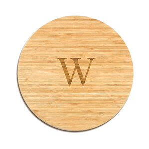 Personalized Bamboo Lazy Susan