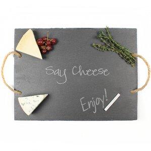 Say Cheese Slate Serving Board