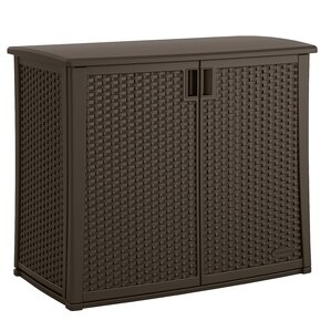 "35.25"" H x 42.25"" W x 23"" D Outdoor Storage Cabinet"