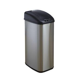 13.2-Gal Motion Sensor Wastebasket