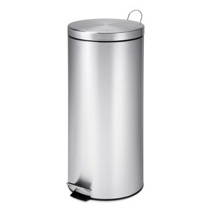 30 L Round Stainless Steel Can with Bucket