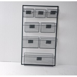 8-Basket Wall Organizer