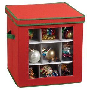 Jolly Cube Ornament Storage Box