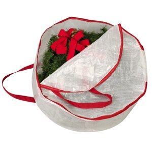 "Susan 24"" Wreath Storage Bag"