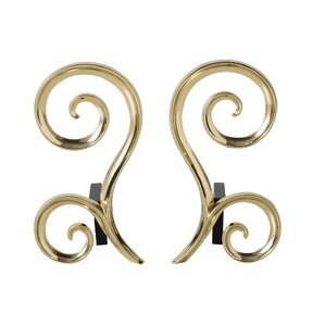 Libby Andirons, Arteriors (Set of 2)