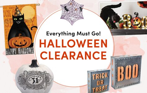 Last-Chance Halloween Clearance