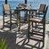 POLYWOOD® Coastal 5 Piece Bar Bar Set