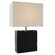 """Lite Source Leandra 17"""" H Table Lamp with Rectangular Shade"""