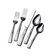 Gourmet Basics by Mikasa 20 Piece Blossom Flatware Set