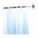 Geesa by Nameeks Standard Hotel Shower Curtain Rail in Chrome